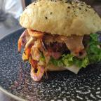 Harissa Bean Burger