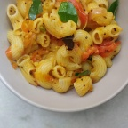 South Indian Tomato Macaroni