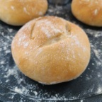 Burger buns- French style