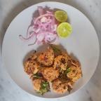 Rawa fried Masala Prawns